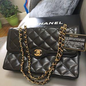 21a791b389a8 CHANEL Bags | Vintage Paris Limited Double Flap Bag | Poshmark